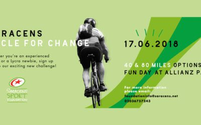 Saracens Charity Cycle Challenge