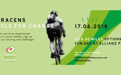 Saracens Charity Cycle Challenge