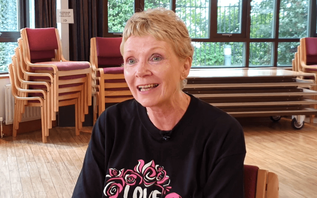 Still dancing after 52 sessions of chemo: Frances Kantorowicz and Love to Dance
