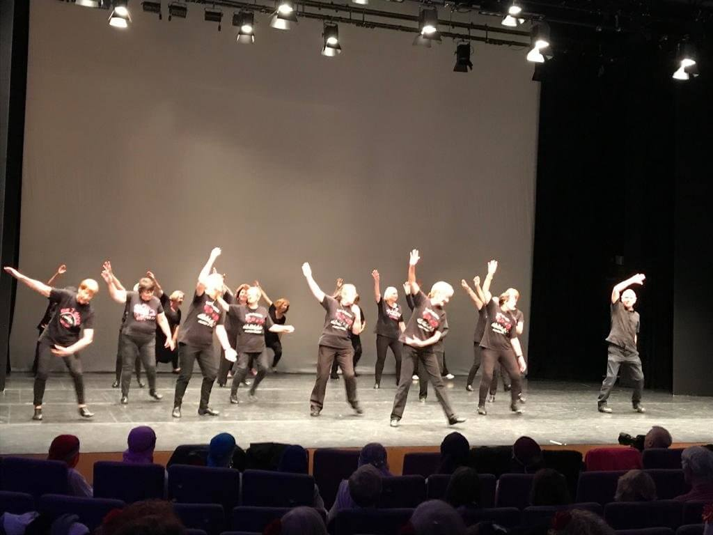 Image of Love to Dance class performing London Stadium routine