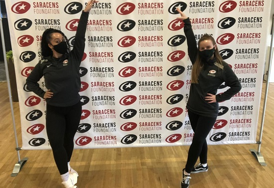 Case Study: Jessika and Romir – Saracens Cheer and Dance