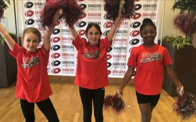 Cheerleading Participant Profile: Elodie's Story