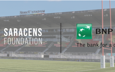 BNP Paribas Partner with the Saracens Foundation